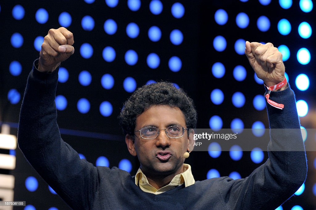 Google engineer Ben Gomes, talks during the opening session of LeWeb12 on December 4, 2012 in Saint-Denis, near Paris. AFP PHOTO ERIC PIERMONT