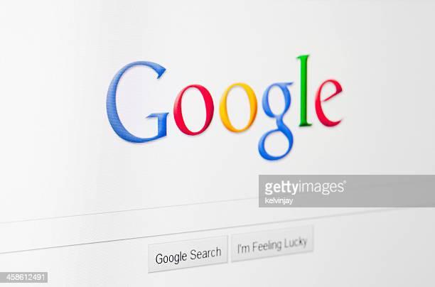 Google のホームページ