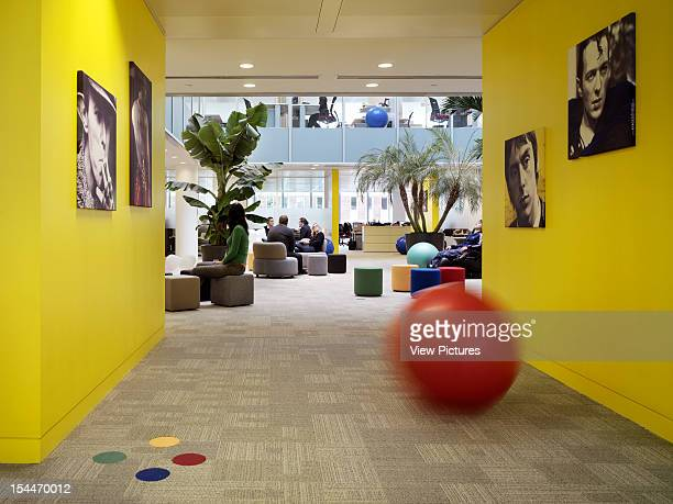 Google London United Kingdom Architect Degw Google Break Out Space Seen From Yellow