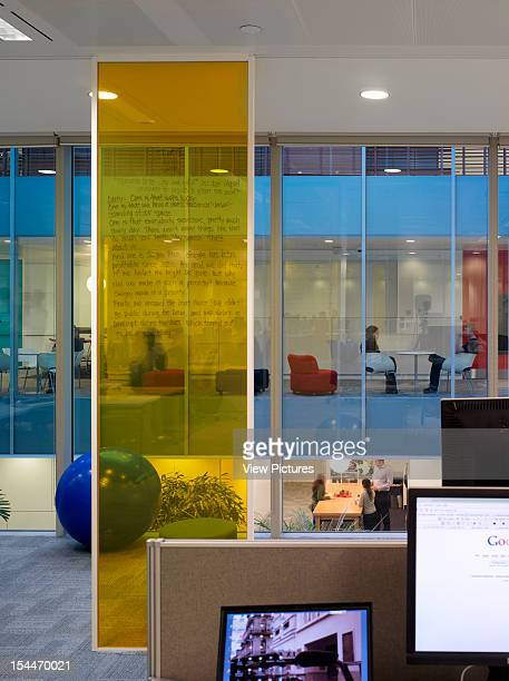 Google London United Kingdom Architect Degw Google Office Detail