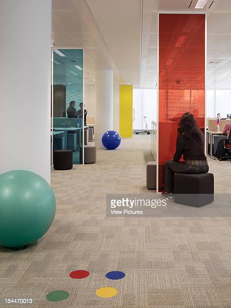 Google London United Kingdom Architect Degw Google Office Floor
