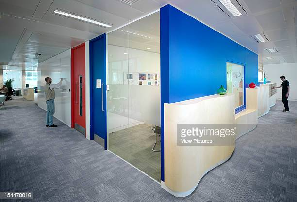 Google London United Kingdom Architect Degw Google Private Rooms In Office