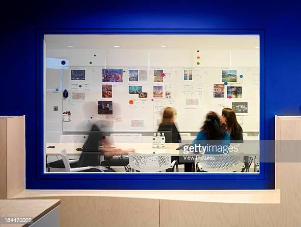Google London United Kingdom Architect Degw Google View Into Office