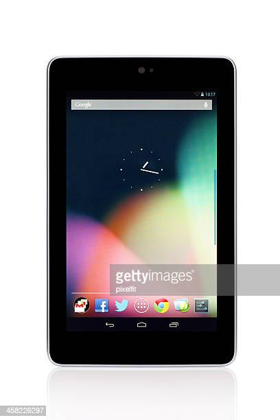 Google Nexus 7 with clipping path