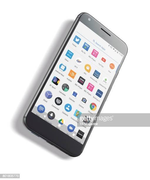 A Google Pixel XL smartphone taken on October 25 2016