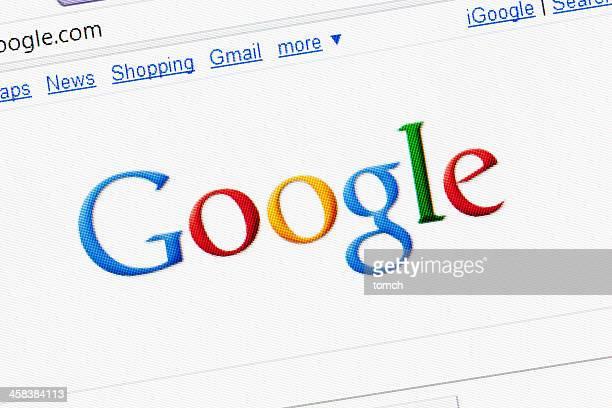 Google の検索ページのインターネット