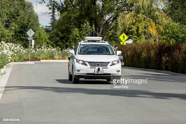 Google selbst mit dem Auto