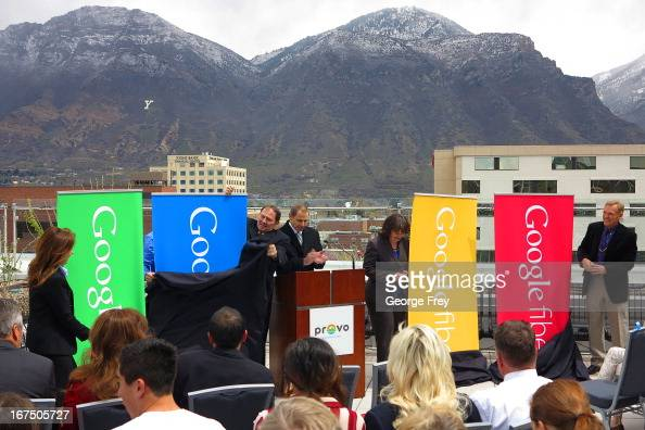 Google state and city officials gathered at the Provo Convention Center to announce that the city has been chosen as the third city in the country to...
