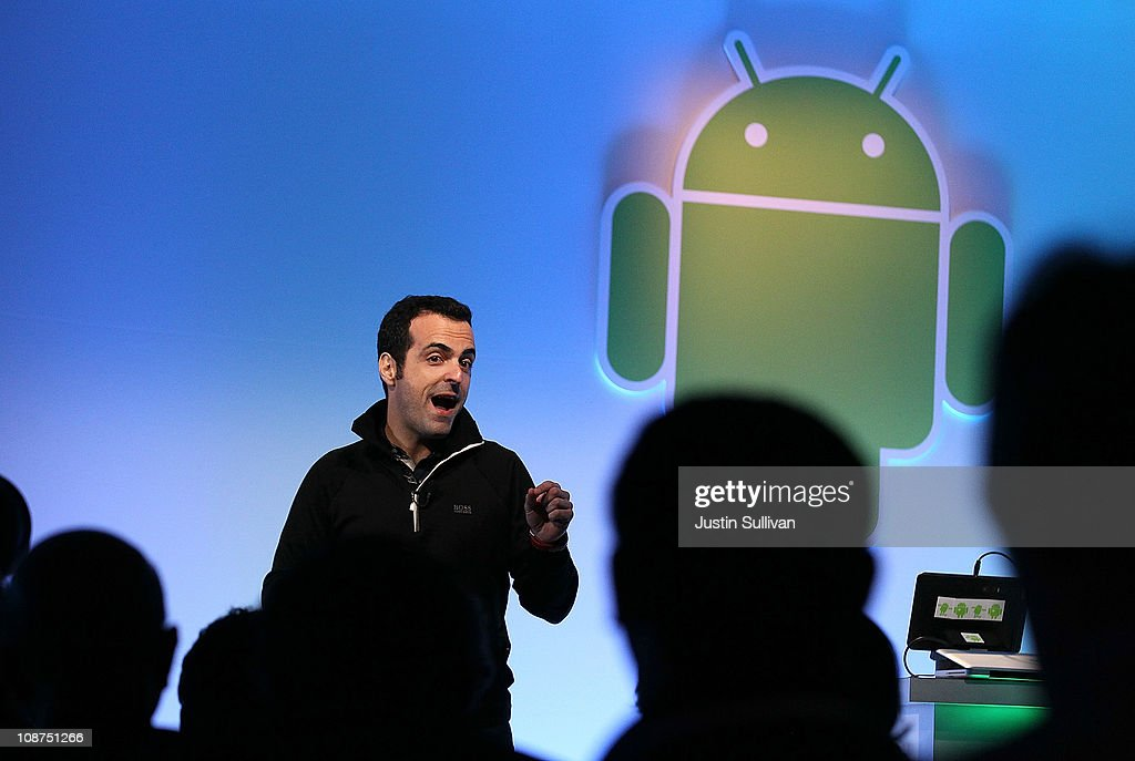 Google's Product Management Director Hugo Barra speaks during a press event at Google headquarters on February 2, 2011 in Mountain View, California. Google unveiled its Android Honeycomb operating system, the first Android operating system designed specifically for tablets.