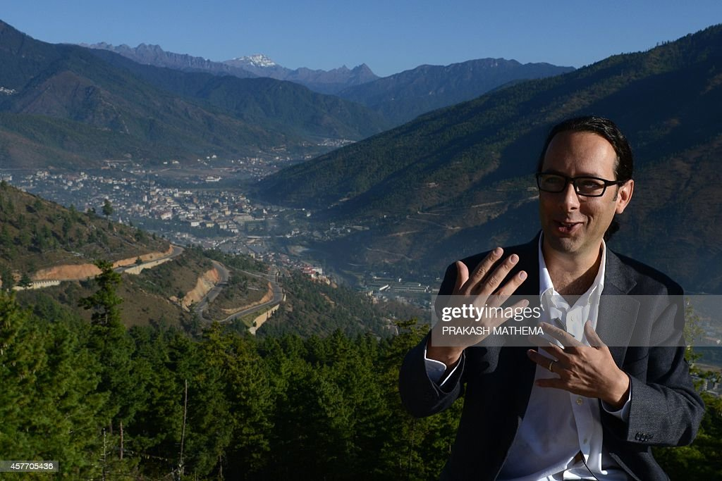 Google's Street View Manager Divon Lan speaks during an interview with AFP in Thimphu on October 23 2014 Google provided a sneak peek into Bhutan...