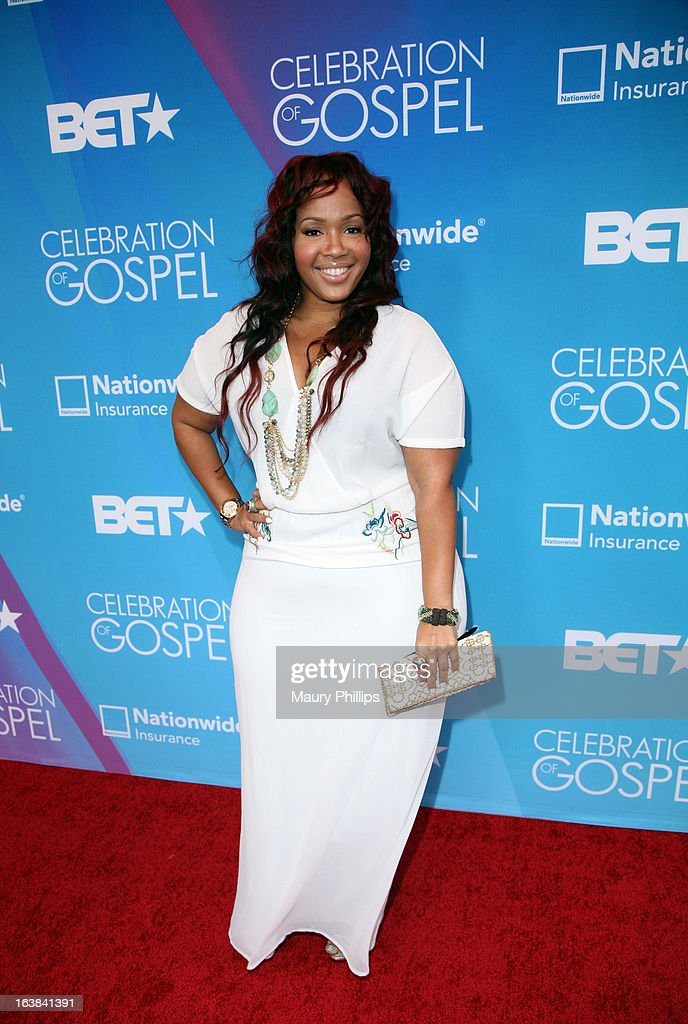 GooGoo Atkins attends the BET Celebration of Gospel 2013 at Orpheum Theatre on March 16, 2013 in Los Angeles, California.