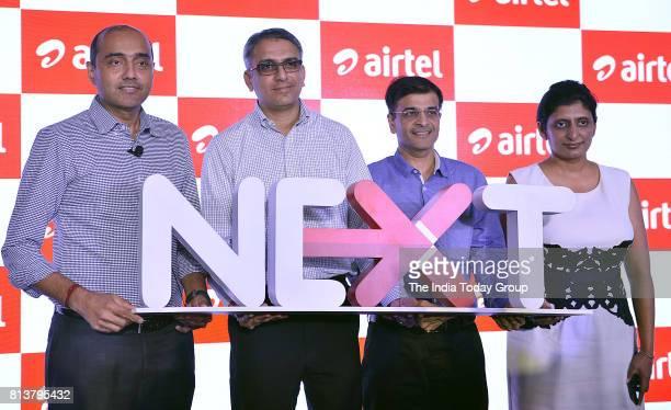 Gopal Vittal MD CEO Bharti Airtel at the launch event in Delhi