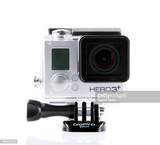 GoPro HERO3 Black Edition isolated on white background GoPro is a brand of highdefinition personal cameras often used in extreme action video...
