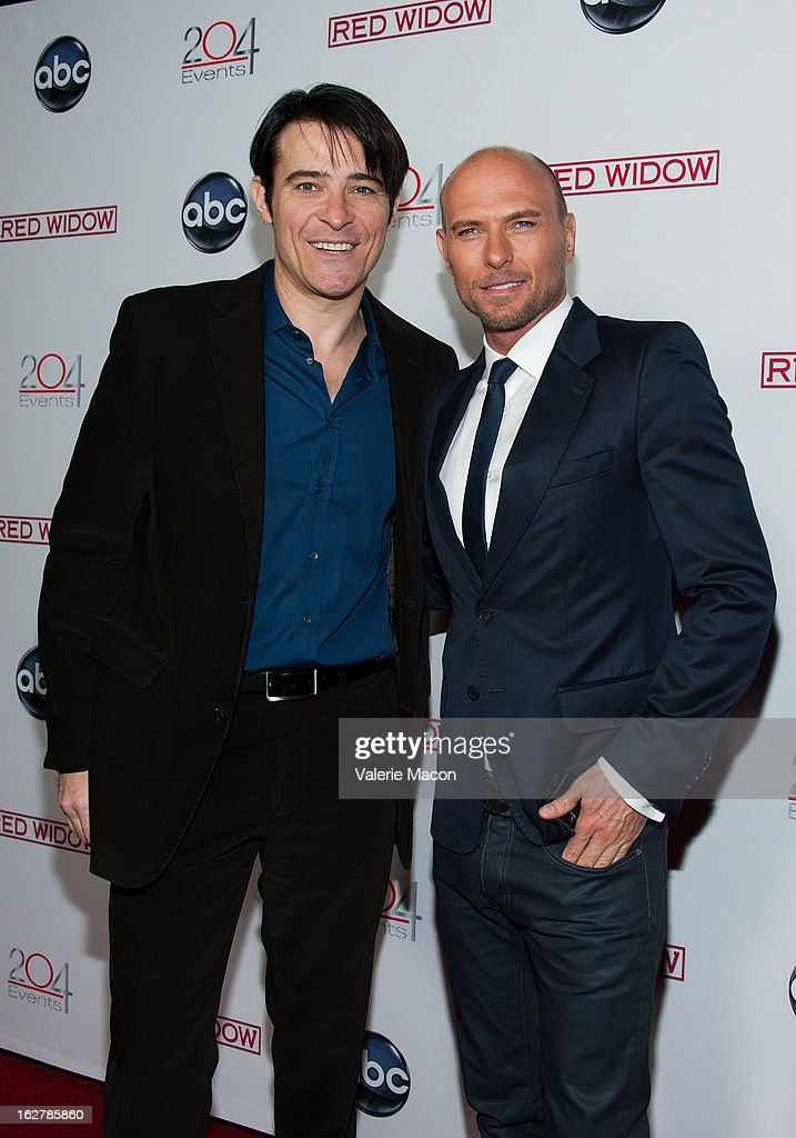 <a gi-track='captionPersonalityLinkClicked' href=/galleries/search?phrase=Goran+Visnjic&family=editorial&specificpeople=213921 ng-click='$event.stopPropagation()'>Goran Visnjic</a> and <a gi-track='captionPersonalityLinkClicked' href=/galleries/search?phrase=Luke+Goss&family=editorial&specificpeople=218173 ng-click='$event.stopPropagation()'>Luke Goss</a> attend ABC's 'Red Widow' Red Carpet Event at Romanov Restaurant Lounge on February 26, 2013 in Studio City, California.