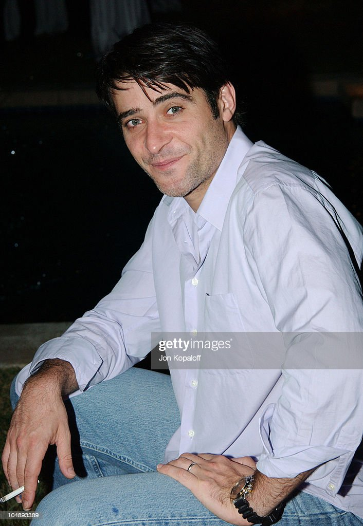 <a gi-track='captionPersonalityLinkClicked' href=/galleries/search?phrase=Goran+Visnjic&family=editorial&specificpeople=213921 ng-click='$event.stopPropagation()'>Goran Visnjic</a> during Endeavor Pre-Party Celebrating the 2003 Emmy Awards at Private Residence in Beverly Hills, California, United States.