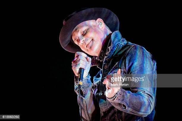 Gord Downie performs his 'Secret Path' album live at the National Arts Centre on October 18 2016 in Ottawa Canada