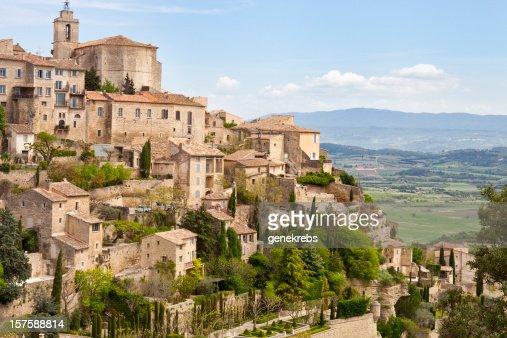 Gordes, Provenza, Francia, Spring Valley del Luberon