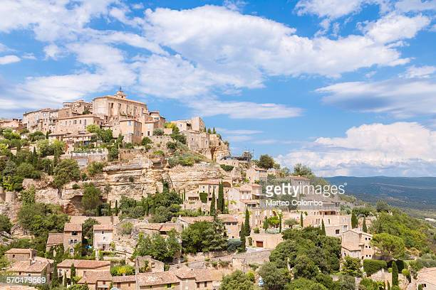 Gordes village perched on a hill, Vaucluse, France