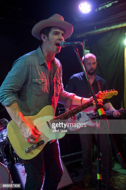 Gordi Quist and Scott Davis of Band of Heathens perform on stage at Rocksound on May 28 2017 in Barcelona Spain