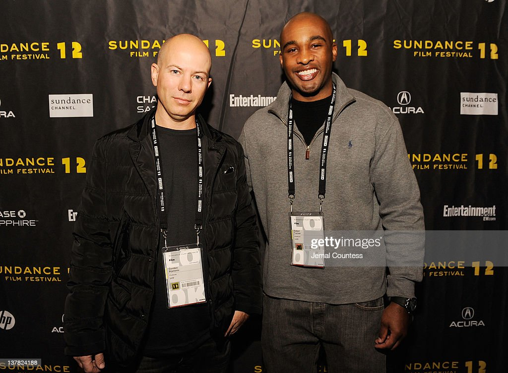 Gordon Bijelonic and Datari Turner attend the Alfred P. Sloan Foundation Reception & Prize Announcement during the 2012 Sundance Film Festival on January 27, 2012 in Park City, Utah.