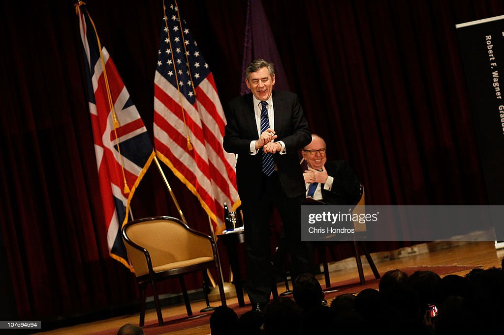 the british prime minister gordon brown and the economy of britain Britain's new prime minister is gordon brown in drag the faux piety of theresa may: pm brutally smears political rivals.