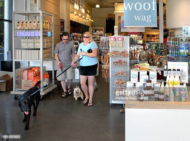 Gordon Chibroski/Staff Photographer On Thursday July 5 2007 customers bought toys and food for their dogs at Planet Dog a growing business that will...