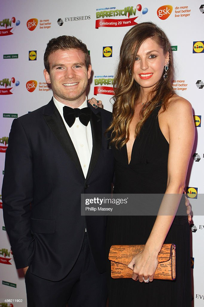 <a gi-track='captionPersonalityLinkClicked' href=/galleries/search?phrase=Gordon+D%27Arcy&family=editorial&specificpeople=220551 ng-click='$event.stopPropagation()'>Gordon D'Arcy</a> and Aoife Cogan attend the Barretstown 20th Anniversary Gala Ball at Convention Centre on September 27, 2014 in Dublin, Ireland.