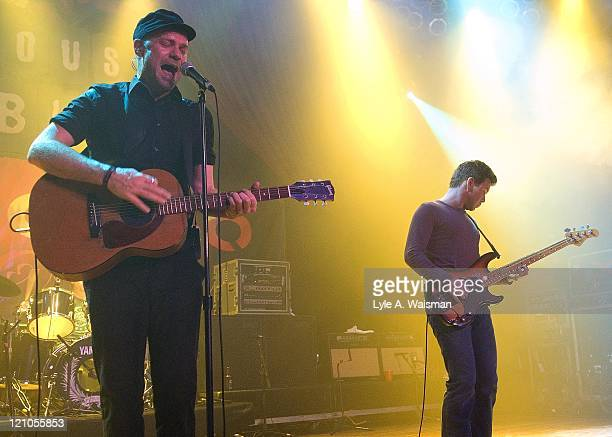 Gordon Downie and Gord Sinclair of The Tragically Hip