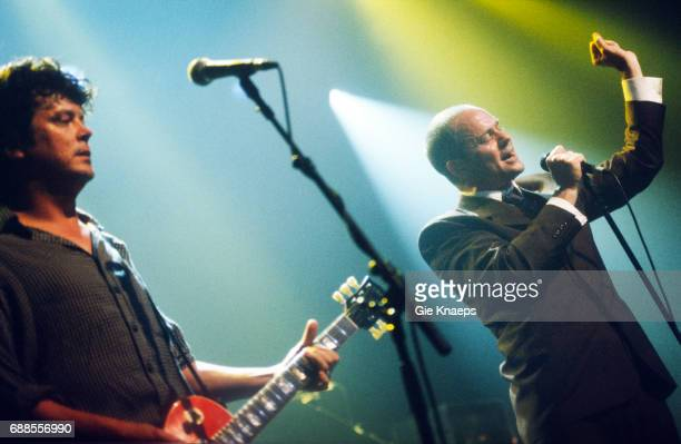 Gordon Downie Paul Langlois The Tragically Hip Ancienne Belgique Brussels Belgium