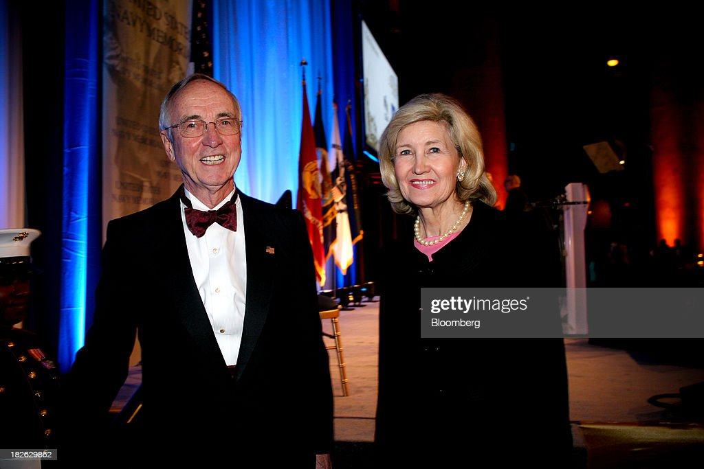 <a gi-track='captionPersonalityLinkClicked' href=/galleries/search?phrase=Gordon+England&family=editorial&specificpeople=224546 ng-click='$event.stopPropagation()'>Gordon England</a>, the 29th deputy secretary of defense, left, and <a gi-track='captionPersonalityLinkClicked' href=/galleries/search?phrase=Kay+Bailey+Hutchison&family=editorial&specificpeople=218057 ng-click='$event.stopPropagation()'>Kay Bailey Hutchison</a>, former senator of Texas, attend the U.S. Navy Memorial's annual gala at the National Building Museum in Washington, D.C., U.S., on Wednesday, Sept. 18, 2013. Media mogul Ted Turner accepted the Lone Sailor Award that evening. Photographer: Stephanie Green/Bloomberg via Getty Images