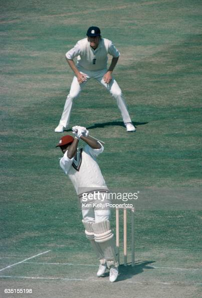 Gordon Greenidge batting for West Indies during his innings of 84 in the 2nd Test match between England and West Indies at Lord's Cricket Ground...