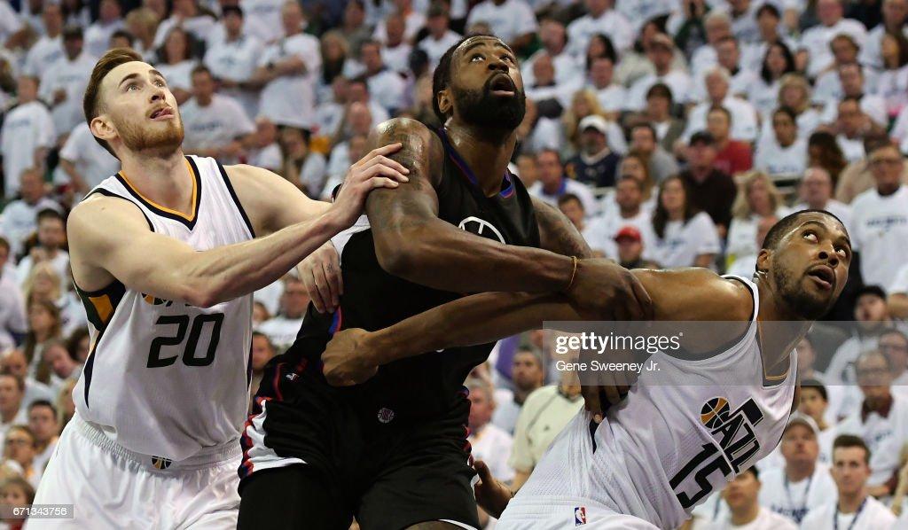 Los Angeles Clippers v Utah Jazz - Game Three