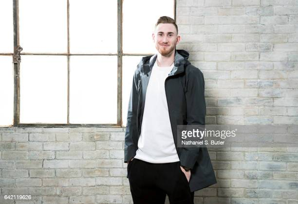 Gordon Hayward of the Utah Jazz poses for a photo during the 2017 AllStar Media Circuit at the Ritz Carlton in New Orleans LA NOTE TO USER User...