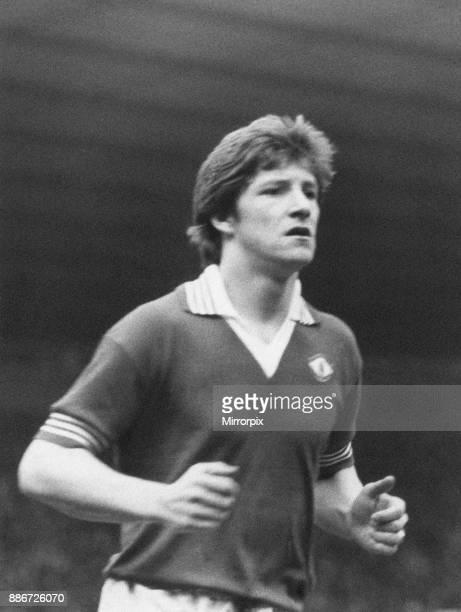 Gordon Hill Manchester United player in action Roker Park Monday 11th April 1977 Sunderland 21 Manchester United