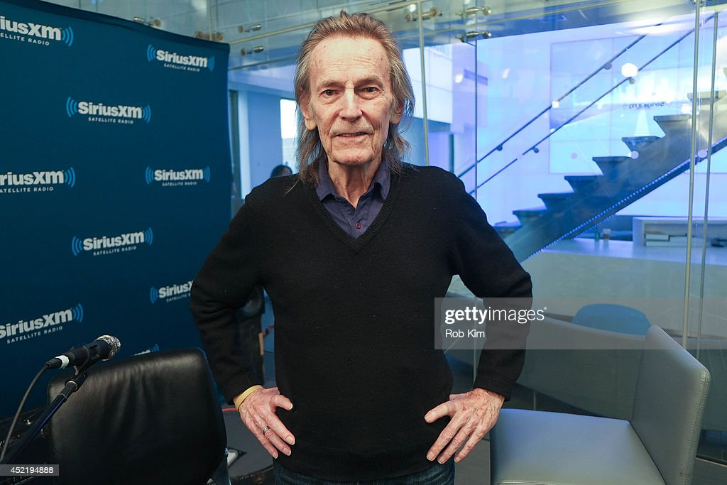 Gordon Lightfoot visits at SiriusXM Studios on July 15, 2014 in New York City.