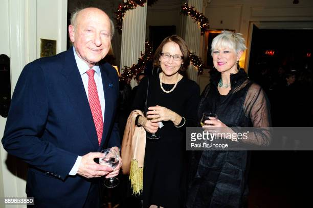 Gordon Litwin Bonita Stanto and Anne Luzzatto attend the Hackensack University Medical Center Foundation Holiday Party Hosted by Jon Fitzgerald Diane...