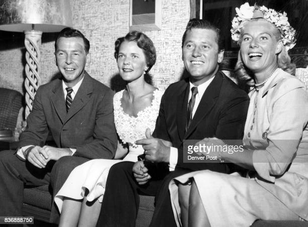 Gordon Mac Raes Visit Mile High City Movie and TV personality Gordon MacRae and his attractive wife arrived in Denver Wednesday from Beverly Hills...