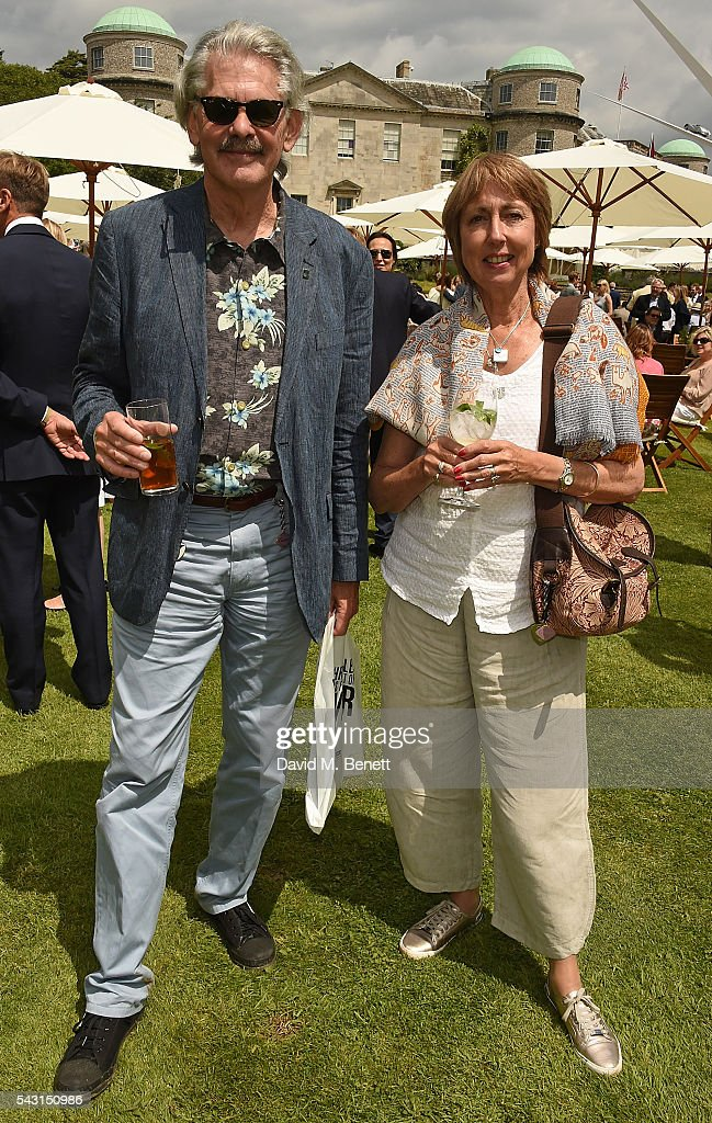 <a gi-track='captionPersonalityLinkClicked' href=/galleries/search?phrase=Gordon+Murray&family=editorial&specificpeople=11670204 ng-click='$event.stopPropagation()'>Gordon Murray</a> and wife attend The Cartier Style et Luxe at the Goodwood Festival of Speed at Goodwood on June 26, 2016 in Chichester, England.
