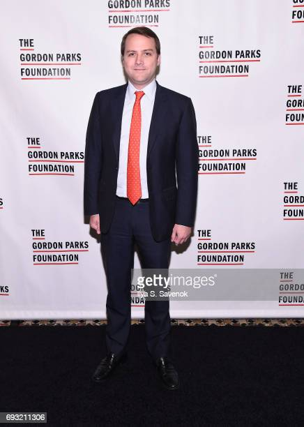 Gordon Parks Foundation boardmember Lewis Hart attends the 2017 Gordon Parks Foundation Awards Gala at Cipriani 42nd Street on June 6 2017 in New...