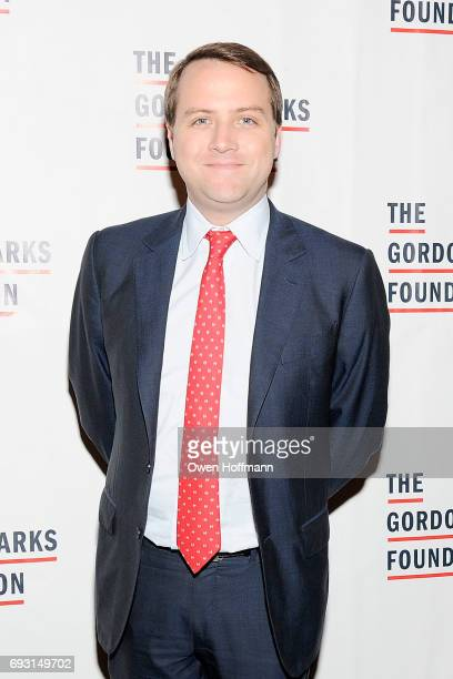 Gordon Parks Foundation boardmember Lewis Hart attends the Gordon Parks Foundation Awards Dinner Auction at Cipriani 42nd Street on June 6 2017 in...