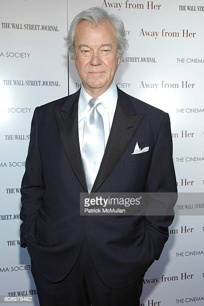 Gordon Pinsent attends THE CINEMA SOCIETY and THE WALL STREET JOURNAL host a screening of 'Away from Her' at IFC Center on May 2 2007 in New York City