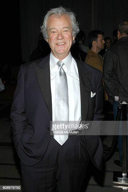 Gordon Pinsent attends THE CINEMA SOCIETY and THE WALL STREET JOURNAL after party for 'Away from Her' at Soho Grand Hotel on May 2 2007 in New York...
