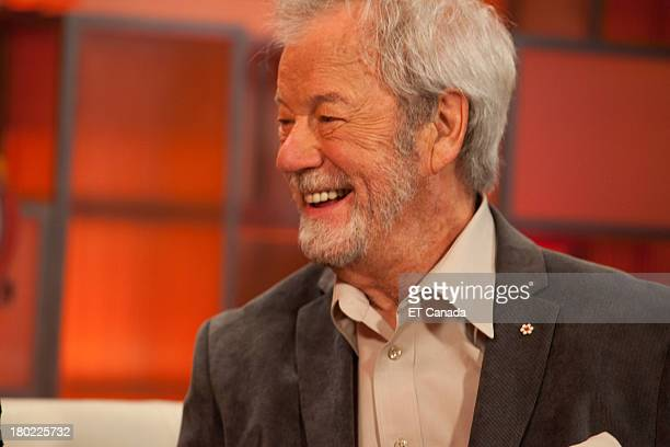 Gordon Pinsent visits the ET Canada Festival Central Lounge at the 2013 Toronto International Film Festival on September 9 2013 in Toronto Canada