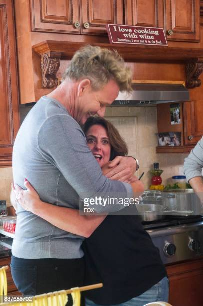 Gordon Ramsay and a member of the Sexy Paesanos in the season premiere episode of THE F WORD airing Wednesday May 31 on FOX
