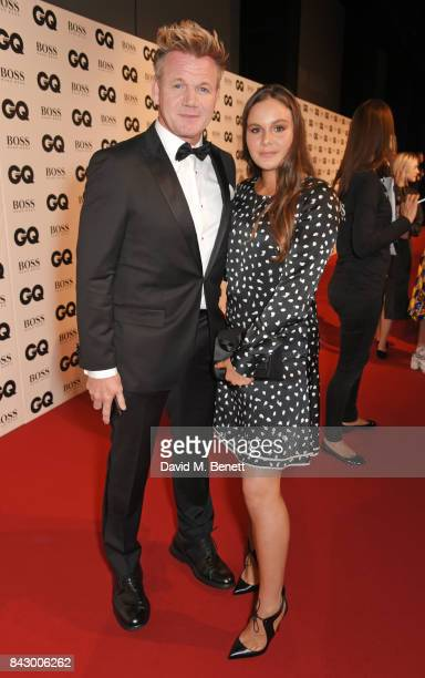 Gordon Ramsay and daughter Holly Ramsay attend the GQ Men Of The Year Awards at the Tate Modern on September 5 2017 in London England