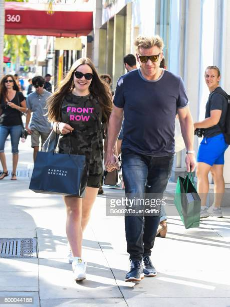 Gordon Ramsay and Holly Ramsey are seen on June 22 2017 in Los Angeles California
