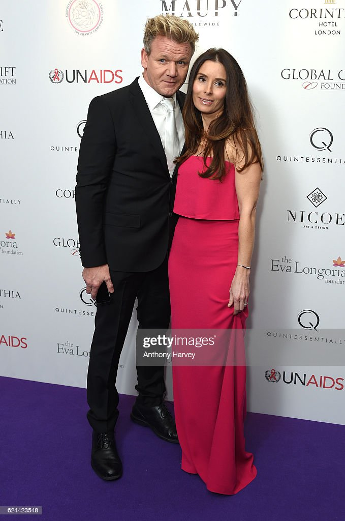 Gordon Ramsay and Tana Ramsay attend the Global Gift Gala London on November 19, 2016 in London, United Kingdom.