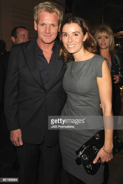 Gordon Ramsay and Tana Ramsay attends the opening of the new Audi Showroom on October 12 2009 in London England