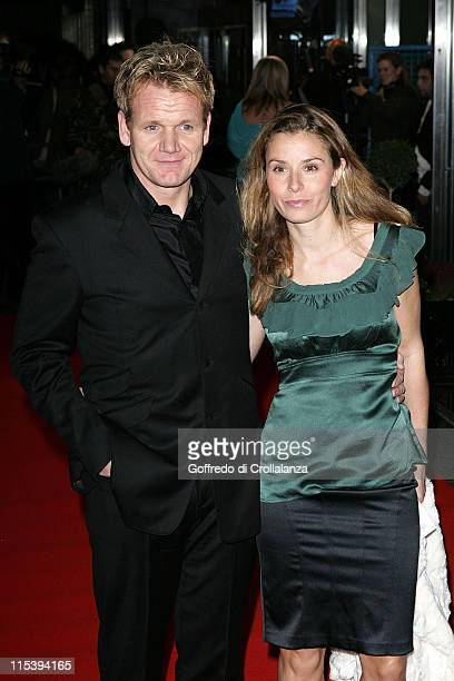 Gordon Ramsay and Tana Ramsay during 2005 Variety Club Showbiz Awards at London Hilton Park Lane in London Great Britain