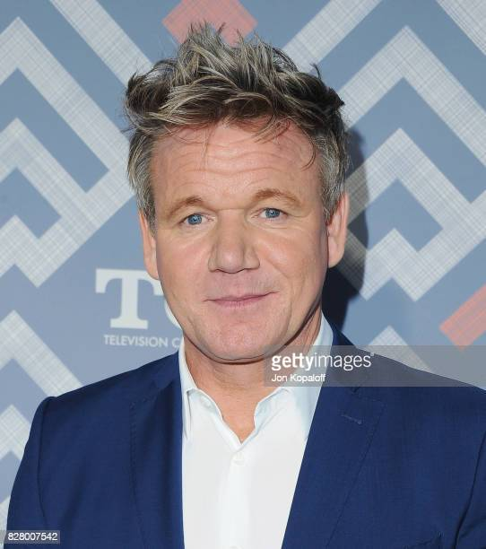 Gordon Ramsay arrives at the 2017 Fox Summer TCA Tour at the Soho House on August 8 2017 in West Hollywood California